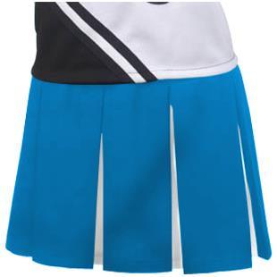 Teamwork Womens & Girls Box Pleat Cheer Skirts