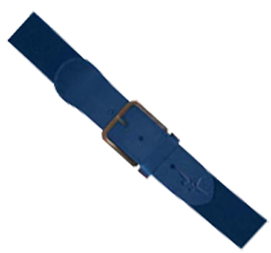 "Alleson Adult 1 1/2"" Elastic Baseball Belts"