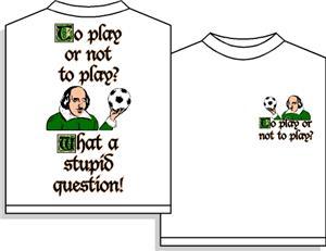 Shakespear soccer tshirt