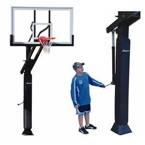 The Park Adj Acrylic Board Flex Basketball Goal