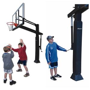 The Resident Acrylic Board Flex Basketball Goal