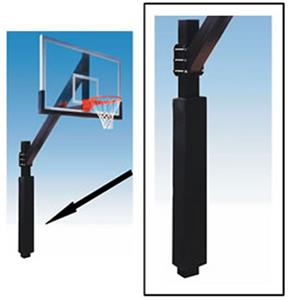 Hook and Loop Basketball Square Pole Padding