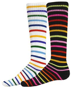 Red Lion Bright Stripes Athletic Socks - Closeout