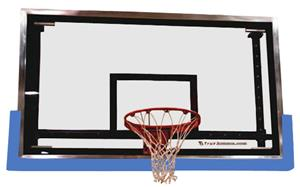 Indoor Outdoor True Bounce Basketball Backboard