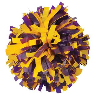 Getz Adult Cheerleaders 2 Color Plastic Mix Poms