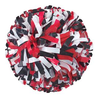 Getz Adult Cheerleaders 3 Color Mix Poms