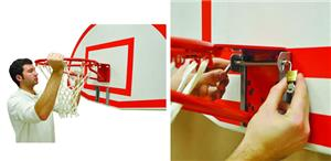 Basketball Removable Goal Bracket Adapter Kit