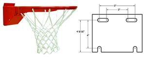 College Basketball Revolution Rim Hideaway Net