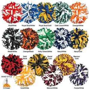 Getz Youth Cheerleaders 2 Color Mix Poms SW11SP