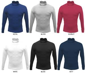 Moisture Management Mock Compression L/S Tees