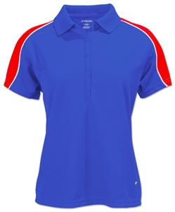 Tonix Ladies Spiral Sports Polos