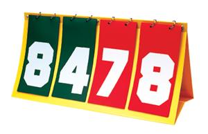 Getz Standard Portable Tabletop Scoreboards