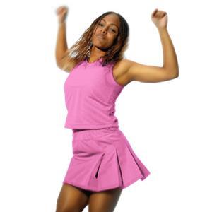 Alleson Pink Straight Cheerleaders Uniform Shells