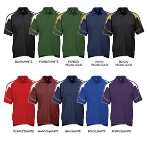 "Tonix Mens ""Playmaker"" Sports Polos"