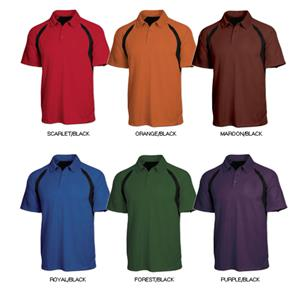 Tonix Mens &quot;Hammer&quot; Sports Polos