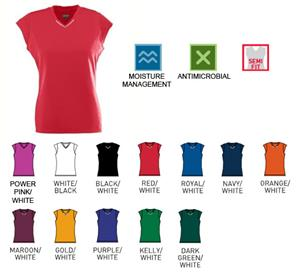 Augusta Sportswear Girls' Rally Semi Fit Jerseys