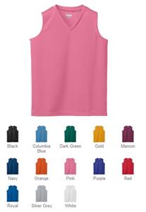 Augusta Sportswear Ladies' Mesh Sleeveless Jersey