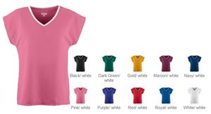 Augusta Sportswear Wicking Girls Mesh Team Jerseys