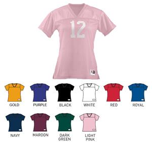 Augusta Ladies Junior Fit Replica Football Tees