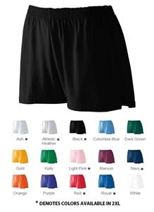 Augusta Sportswear Ladies Jr Fit Jersey Shorts