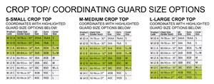 Women's Crop Top for Maxi Guard Inserts