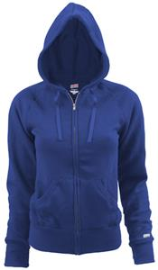 Soffe Juniors Girls Rugby Zip Hoodie Jacket