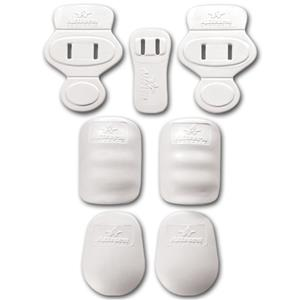 Alleson Youth Light 7-Pc Slotted Football Pad Set