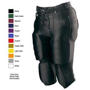 Alleson Adult Nylon/Spandex Football Pants