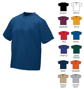 Augusta Sportswear Wicking Two-Button Jerseys