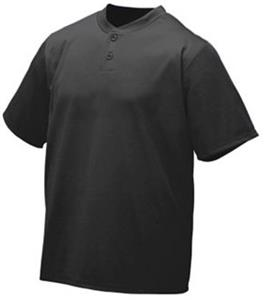 Augusta Sportswear Wicking Two-Button Youth Jersey