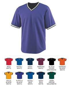 Augusta Sportswear Wicking V-Neck Baseball Jerseys