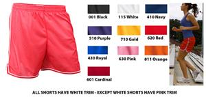 Soffe Juniors &amp; Girls Mesh Sport Shorts