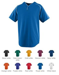 Augusta Sportswear Youth Wicking One-Button Jersey