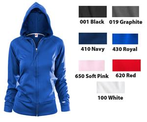 Soffe Poly-Fleece Team Zip Jacket Hoodie
