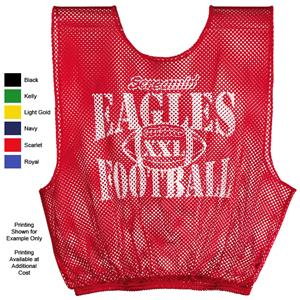 Adult Football Mesh Scrimmage Vests-Closeout
