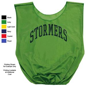 Alleson Mini Mesh Sports Scrimmage Vests