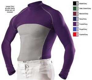Alleson Adult Mock Neck Football Jerseys