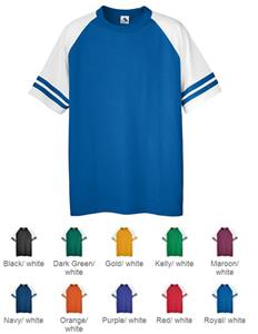 Augusta Sportswear Sleeve Stripe Six-Ounce Jerseys