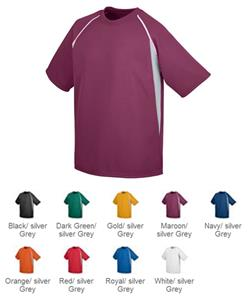 Augusta Youth Wicking Mesh Baseball Jersey