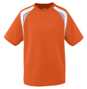 Augusta Youth Wicking Mesh Tri-Color Jerseys