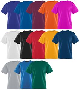 Augusta Youth Elite Wicking/Antimicrobial T-Shirt