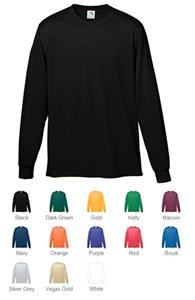 Augusta Youth Wicking Long Sleeve T-Shirt