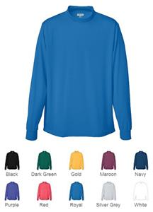 Augusta Sportswear Wicking Mock Turtleneck