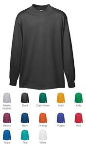 Augusta Six-Ounce Wicking Mock Turtleneck