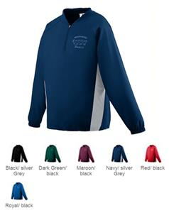 Augusta Micro Poly Half-Zip Training Jacket