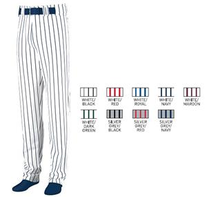 Youth Striped Open Bottom Baseball/Softball Pant