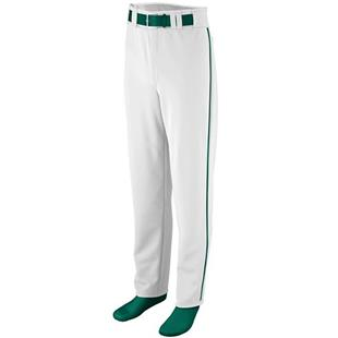 Augusta Youth Open Bottom Piping Baseball Pant CO