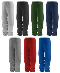 Soffe Youth Open Bottom Pocket Fleece Sweatpants