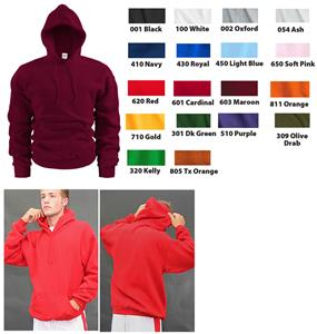 Soffe Heavy Weight Hooded Sweatshirts