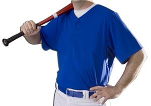 Intensity Mock Mesh One Button Baseball Jerseys